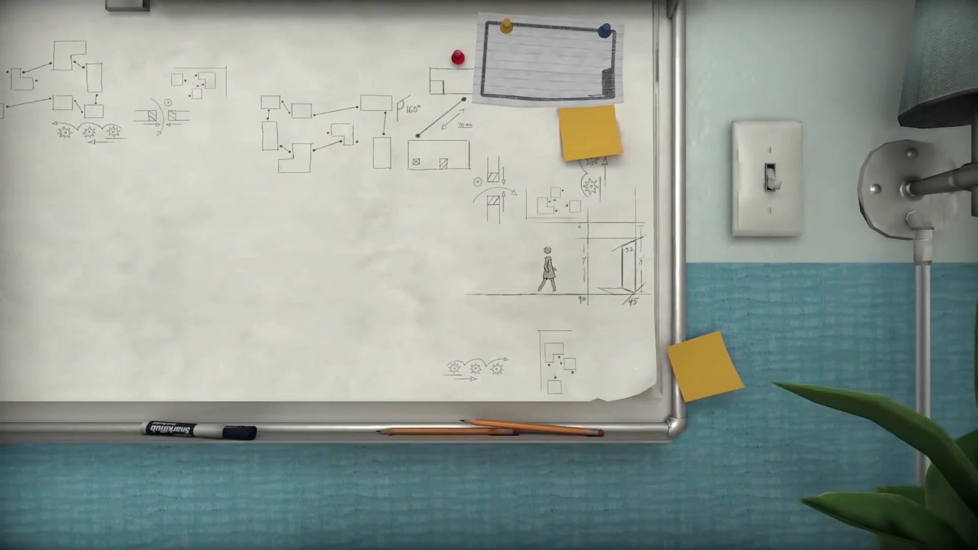 2.5D益智游戏《步行者》2021年1月登陆PS4