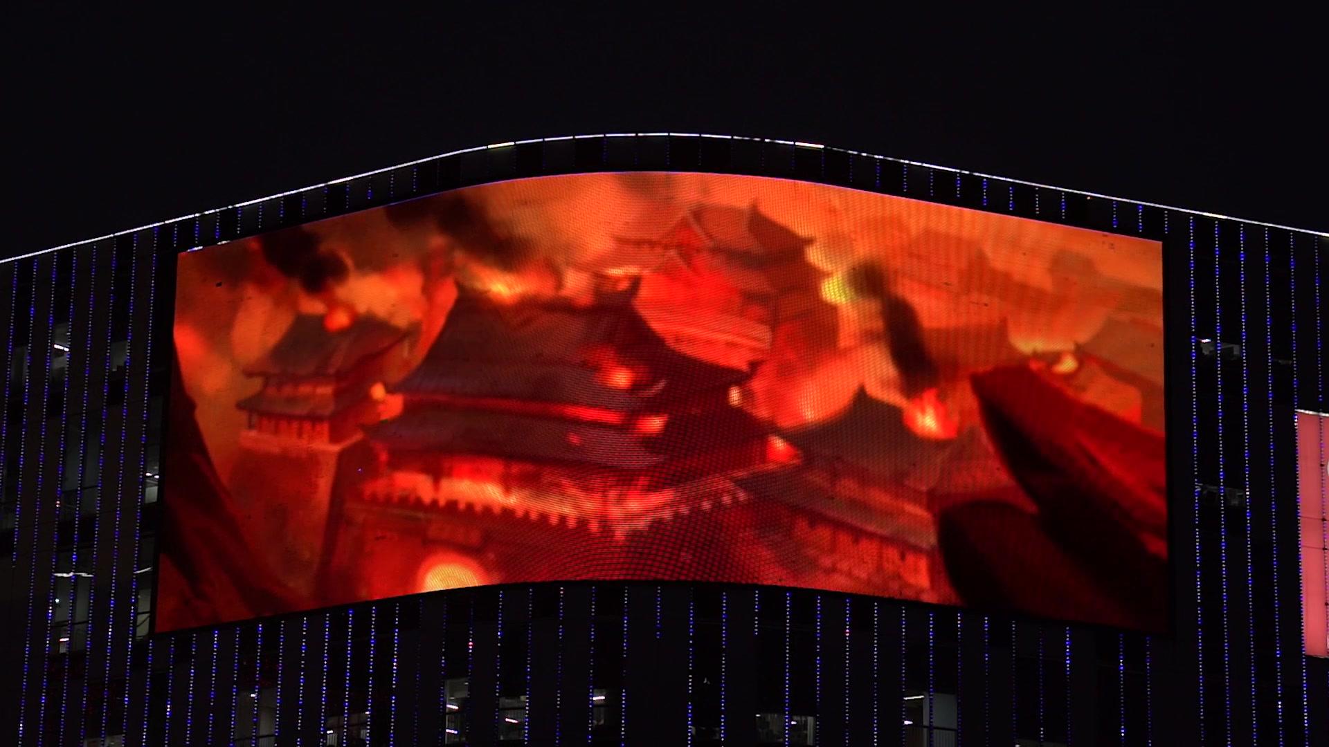 上海惊现巨屏兄弟集结令!