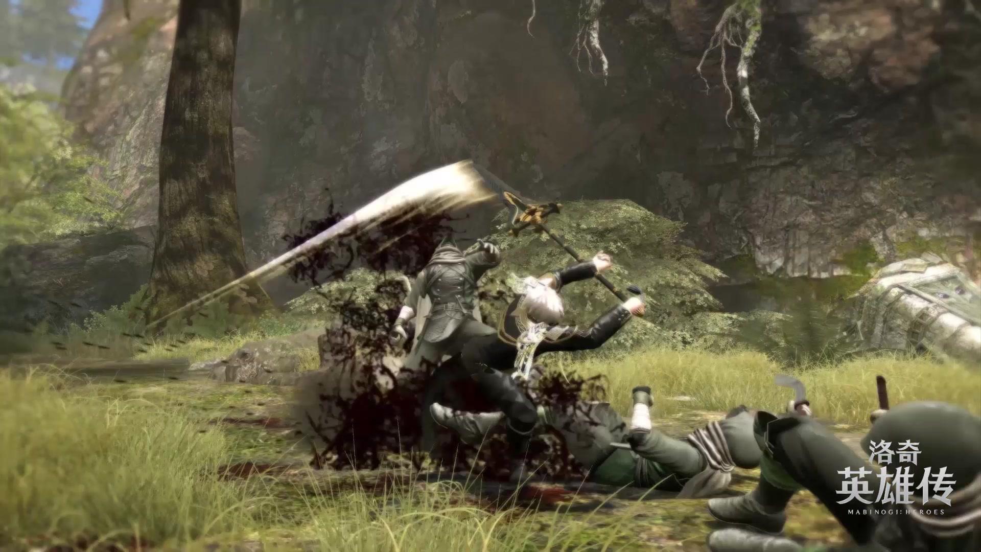 剑矛!冲锋!《洛奇英雄传》新角色铠尔实战视频曝光