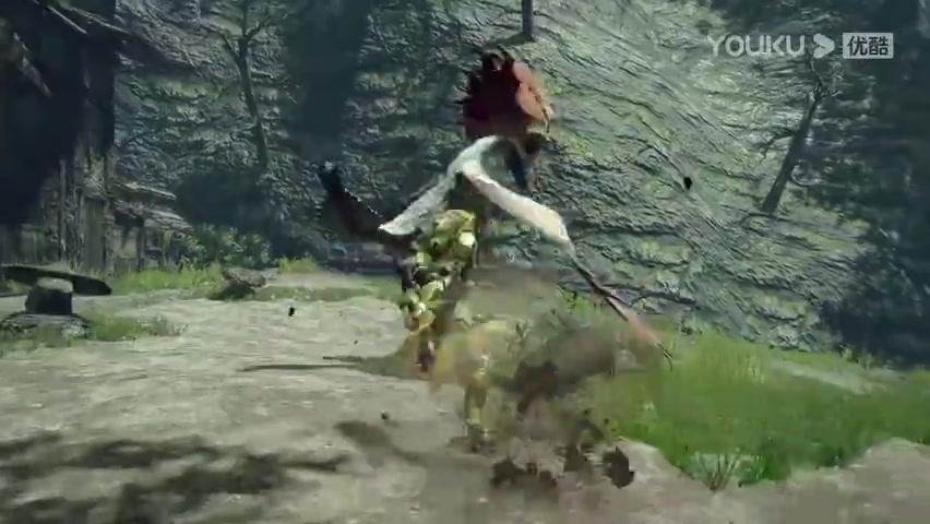 《怪物猎人:崛起》新演示: