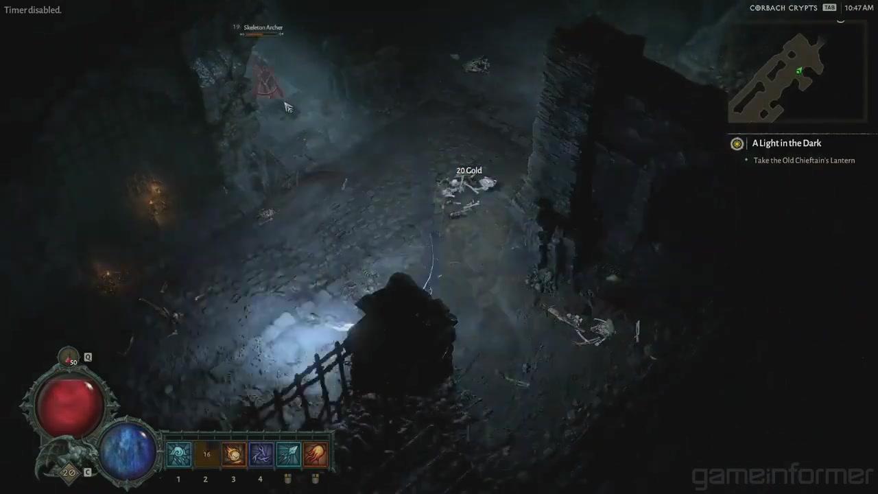 《暗黑破坏神4》巫师新演示视频