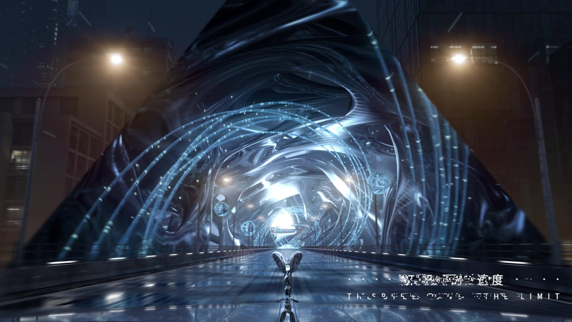2035款劳斯莱斯未来车QEX穿越而至,7/17在QQ飞车手游试驾未来