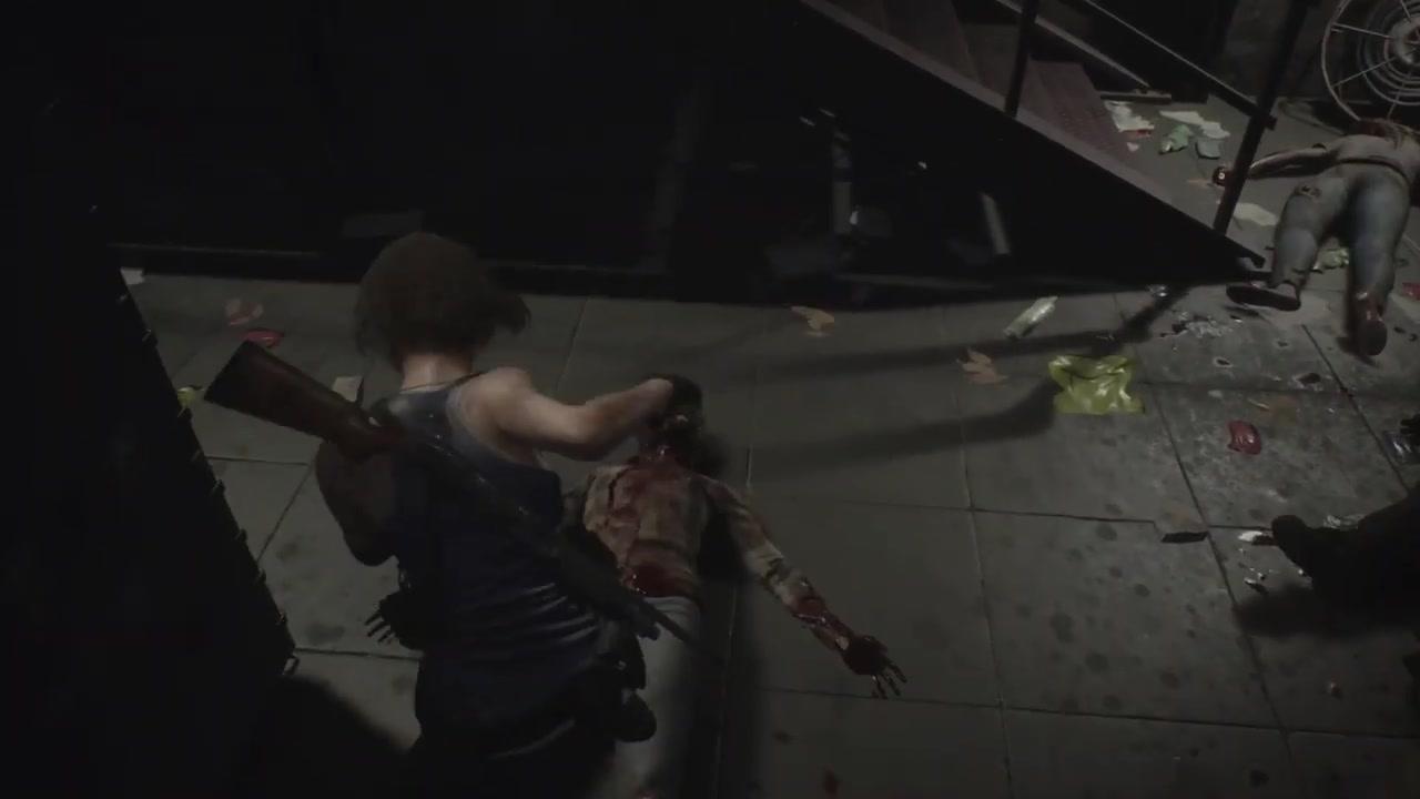 《生化危机3:重制版》17分钟演示