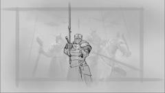 《领地人生》三勇士原画创作过程,不看后悔一百年!