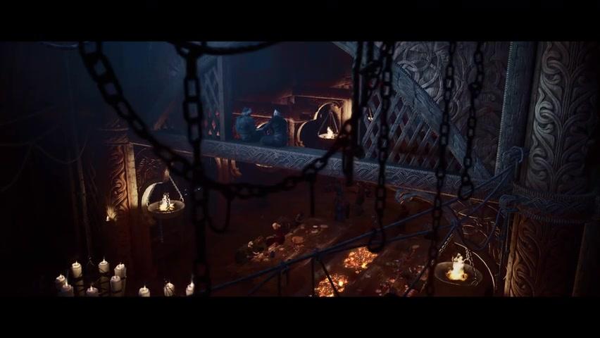 《刺客信条:英灵殿》实机演示