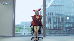 DXRacer迪瑞克斯X AION游戏定制电竞椅