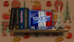 1001 Jigsaw. World Tour: France