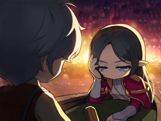 """《冒险岛》新职业""""御剑骑士""""阿黛尔奉使命召唤而来插图(2)"""