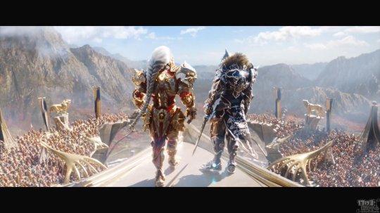 身披战甲、拯救世界《众神陨落》发布PS5版中文剧情预告片