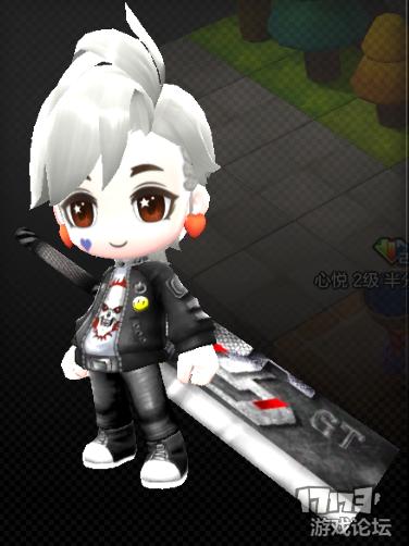 【DIY时装】全金属巨剑——漆黑