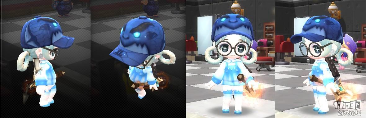 【DIY时装】冰霜魔龙的帽子-。-