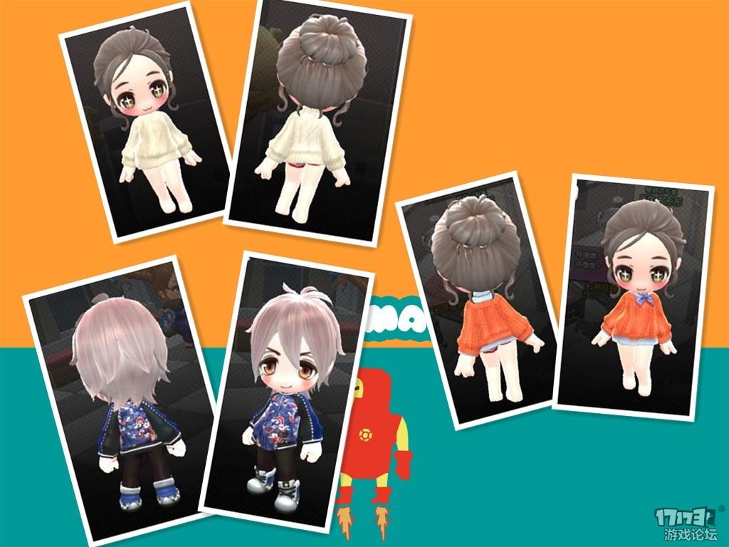 【三明】最近做的一些比较日常的服装展示