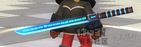 DIY科技风魔纹剑