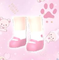 【分享图纸】粉蓝小鞋子、、