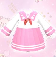 【分享图纸】粉色水手裙、留邮送无水印图纸