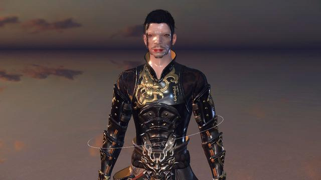 这个铁衣的捏脸很有特点吧,看一眼绝对忘不了