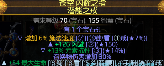 《流放之路》3.8满格当灵体召唤BD分享