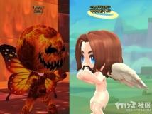 天使VS恶魔,话说这恶魔的头也太圆了吧?
