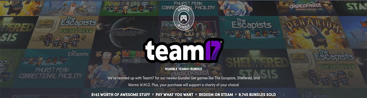 HB 新主包【Humble Team 17 Bundle】上线了